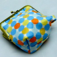 "4"" Silly Coin Purse - Pale Spots"