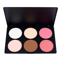 Coastal Scents:  6 Contour Blush Palette by Coastal Scents