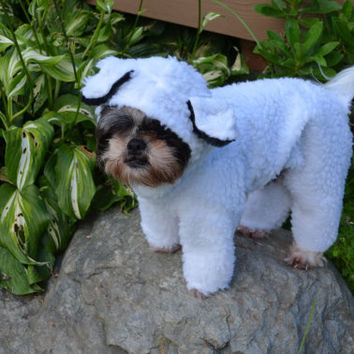 Little Bo Peep's Lost Sheep Halloween Pet/Dog Costume size Medium