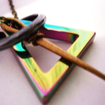 Deathly hallows necklace My Original Design Harry by 1luckysoul