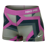 Nike Women's Pro Print Compression Short