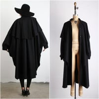 The GUNSLINGER . Amazing Cape . Oversize Wool Coat