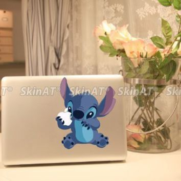 Top Decal Stitch - Macbook Decal Humor Sticker Art Skin Partial Protector:Amazon:Computers & Accessories