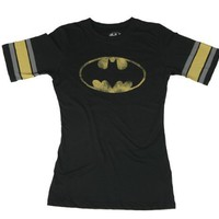 Bioworld Juniors Batman Logo Hockey T-shirt