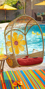 Outdoor Papasan Chairs & Swingasans from Pier 1 imports