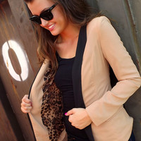 She Means Business Blazer | The Rage