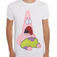 SpongeBob SquarePants Surprised Patrick T-Shirt | Hot Topic