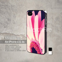 pink flower petals iPhone 5, iPhone 4/4S, Samsung Galaxy S2, Samsung Galaxy S3 , Samsung Galaxy S4, Blackberry Z10 Hard Case Black / White