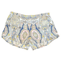 Gypsy 05 Paisley Shorts available at les pommettes los angeles