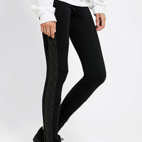Sparkle & Fade Quilted-Side Legging