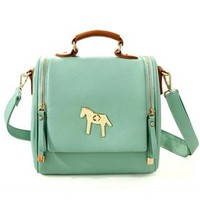 Vintage Horse Crossbody Bag Handbag from styleonline