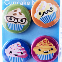 Gama-Go Cupcake Magnets - BACK IN STOCK!
