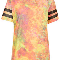 Rainbow Ripple Tee By Escapology - Clothing Brands  - Clothing