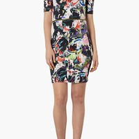 Topshop Zip Waist Body-Con Dress | Nordstrom