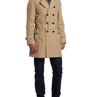 Ben Sherman Men's Plectrum Memory Nylon Trench Coat