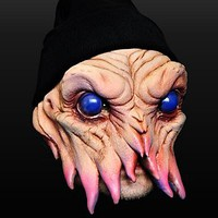 Octopod Latex Half Mask - maskworld.com