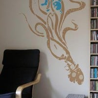 Octopus wall decal from Threadless by Blik