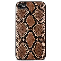 Snake Skin Print - iPhone 4 or 4s Cover, Cell Phone Case - Black:Amazon:Cell Phones & Accessories