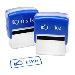 ThinkGeek :: Like/Dislike Stamp Set