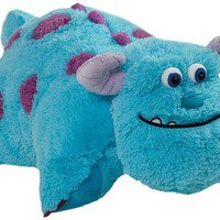 Pillow Pets 18-Inch Square Pillow, Large, Sulley:Amazon:Home & Kitchen