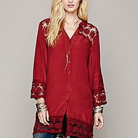 Intimately  Crochet Night Shirt at Free People Clothing Boutique