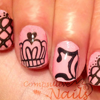 Nail polish strips. TWO SETS of Nail decal by CompulsiveNails