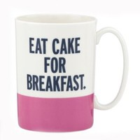 things we love eat cake for breakfast mug - kate spade new york