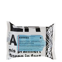 Korres Milk Proteins Cleansing & Make-Up Remover Wipes at asos.com