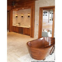 PSCBATH Wooden Bath