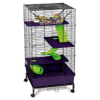 Super Pet My First Home 2x2 Multi-Level Ferret Cage | eBay