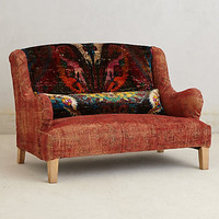 Silk Knotted Settee by Anthropologie Multi One Size Furniture