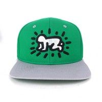 Keith Haring by House of Field Baby 2-Tone Snap Back cap