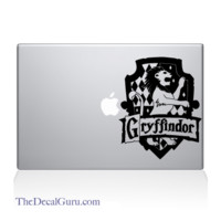 Gryffindor Crest Macbook Decal | Macbook Vinyl Decals | The Decal Guru