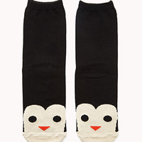 Cute Penguin Socks | FOREVER 21 - 2076361156