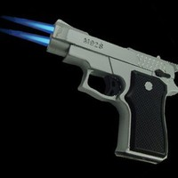 Twin Laser Flame Gun Torch Lighter #15:Amazon:Everything Else