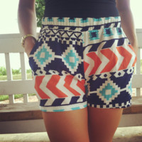 Myth of Origins High Rise Shorts