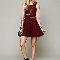 Free People Womens Fitted With Daisies Dress -