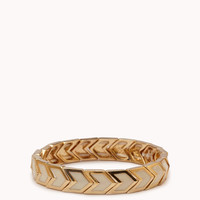 Stretchy Chevron Bangle