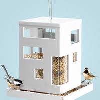 Bird Cafe Feeder | Modern Bird Feeder | fredflare.com