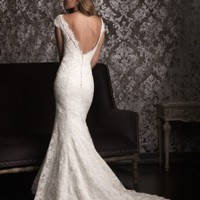 Allure Bridals 9000 Vintage Lace Wedding Dress