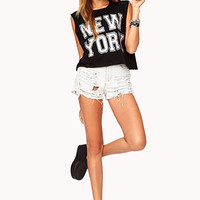 New York Hologram Muscle Tee | FOREVER 21 - 2000076451