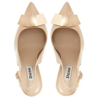 Buy Dune Cadet Metal Bow Front Slingback Court Shoes online at John Lewis