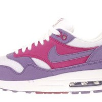 Nike Womens Air Max 1 Purple White 319986-502