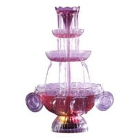 Nostalgia Electrics LPF-210 Vintage Collection Lighted Party Fountain Beverage Set:Amazon:Kitchen & Dining