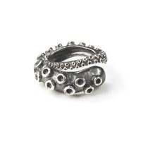 Silversmith 925 Sterling Silver 3D Octopus Ring / Pendant