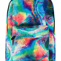 OIL SLICK BACKPACK - Accessories - New In - TOPMAN USA