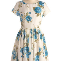 Beauty in the Air Dress in Delphinium | Mod Retro Vintage Dresses | ModCloth.com