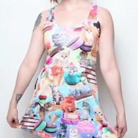 Kittens and Ice Cream Dress