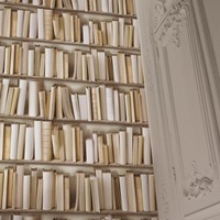 Ivory Library Wallpaper