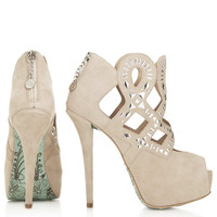 **Charmed Booties By CJG - Heels - Shoes - Topshop USA